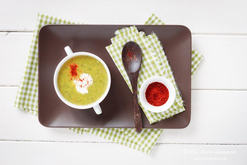 Zucchinisuppe mit Paprika || FOOD VEGETARISCH