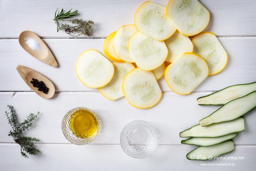Eingelegte Zucchini || FOOD VEGETARISCH