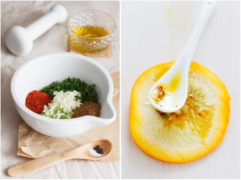 Zucchini mit Chermoula || FOOD VEGETARISCH