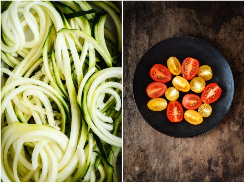 Zucchini und Tomaten | FOOD VEGETARISCH