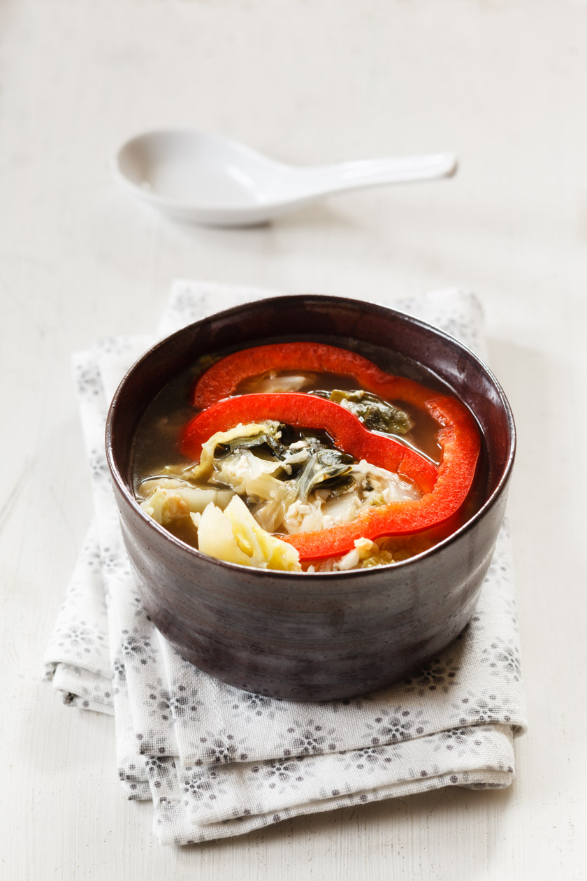 Chinesische Kohlsuppe | FOOD VEGETARISCH