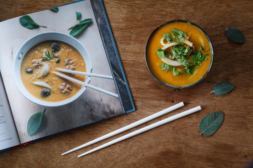 Chinesische Suppe aus Wurzelgemüse | FOOD VEGETARISCH