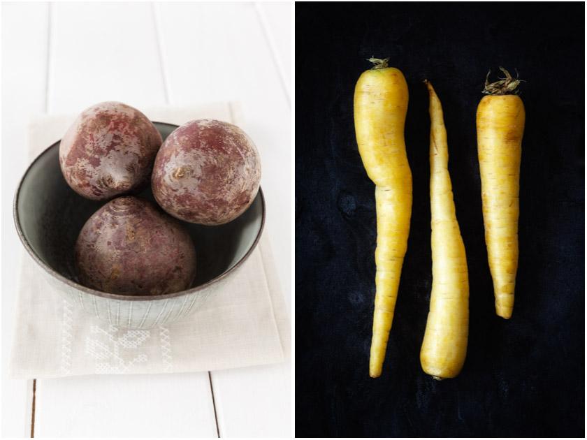Rote Bete | Gelbe Möhren | FOOD VEGETARISCH