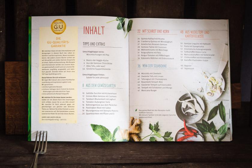 Inhalt | Sarah Wiener: Vegetarisch | FOOD VEGETARISCH