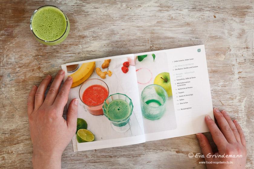 Kochbuch: Mix it - Inhaltsverzeichnis