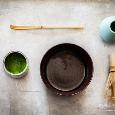 Zubereitung von Matcha Tee