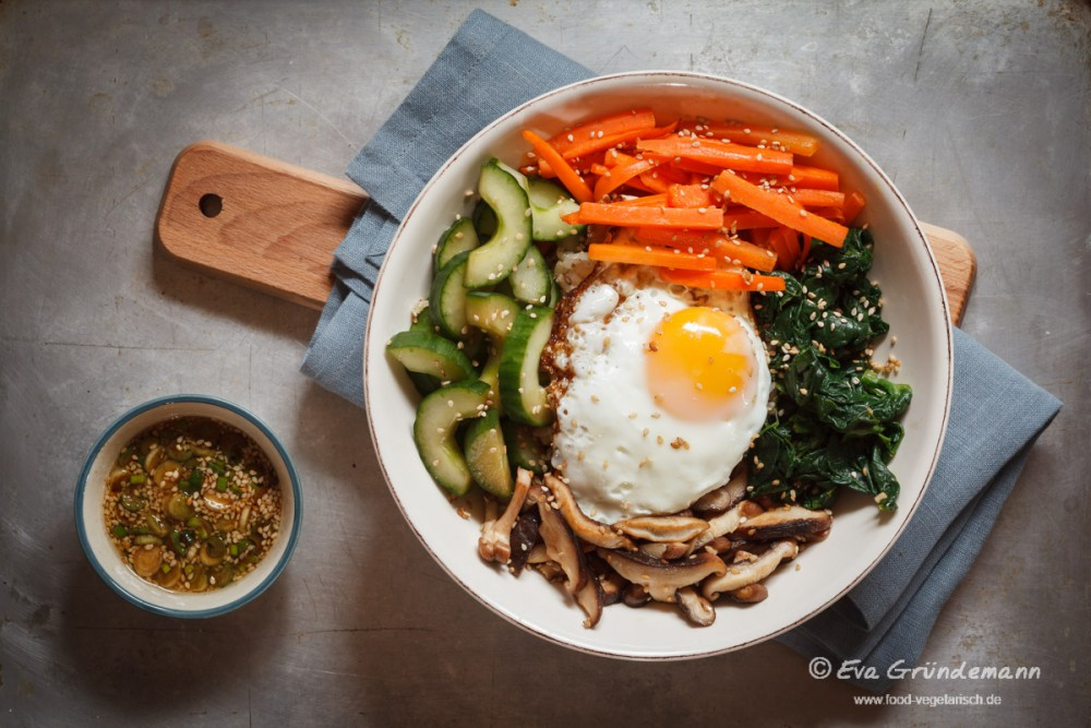 Vegetarisches Bibimbap