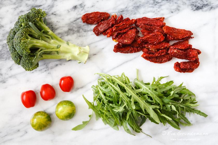 Zutaten Reissalat | FOOD VEGETARISCH