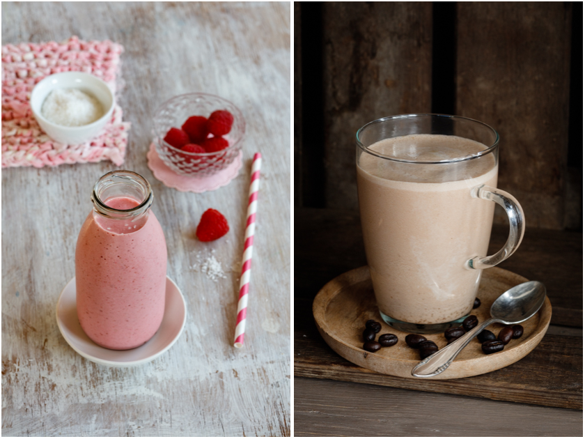 Einfacher Himbeer-Smoothie | Mocha-Morning-Hit
