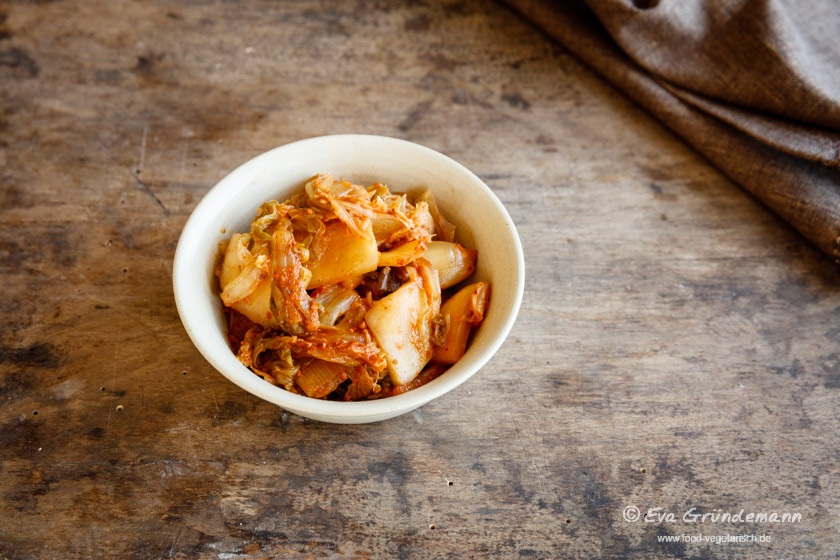 Ein einfaches Kimchi Rezept