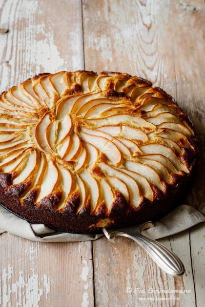 Buchweizen Birnenkuchen Kostlich Glutenfrei Und Einfach Zubereitet