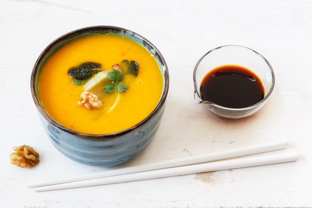 vegane k rbis karotten suppe food vegetarisch. Black Bedroom Furniture Sets. Home Design Ideas