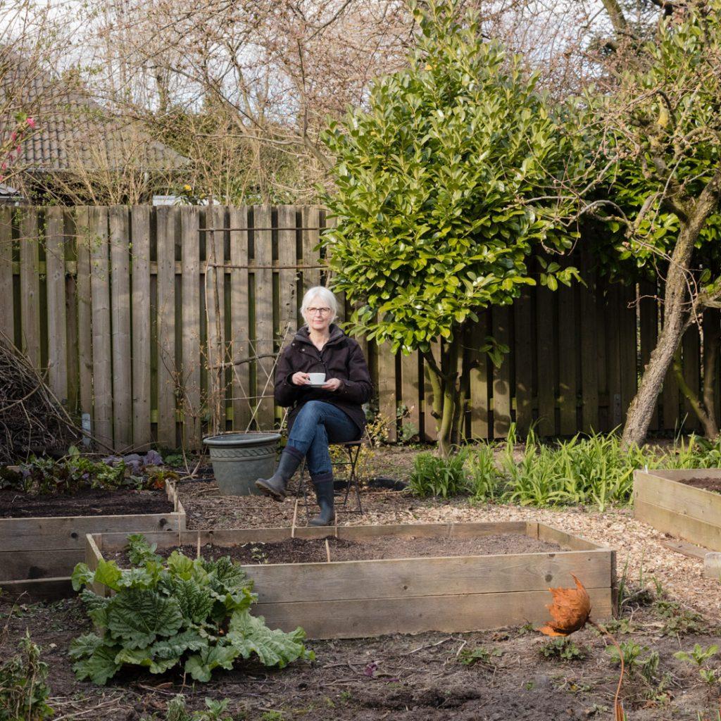 Gemüsegarten im März